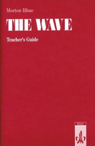 9783125772908: Morton Rhue The Wave, Teacher's Guide