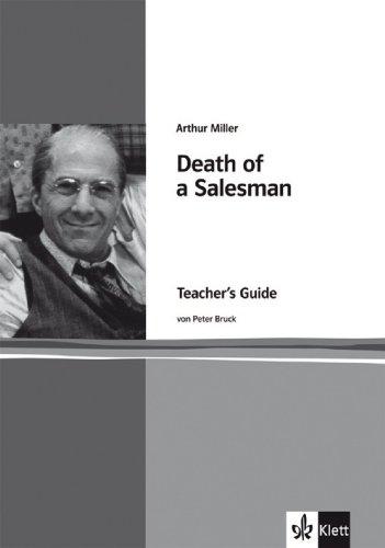 9783125776340: Arthur Miller: Death of a Salesman: Teacher's Guide. Englische Lekt�re f�r die Oberstufe
