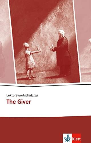 """9783125782419: Lektürewortschatz zu """"The Giver"""""""