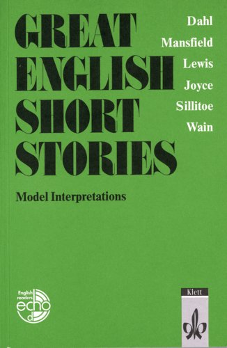 9783125786301: Great English Short Stories / Model Interpretations