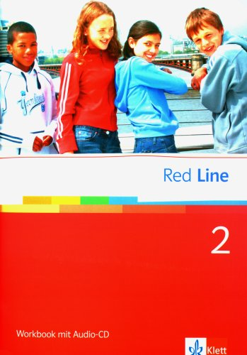 9783125811256: Red Line 2. Workbook mit CD: Realschule. BW, HB, HE, HH, NI., NW, RP, SH, SL