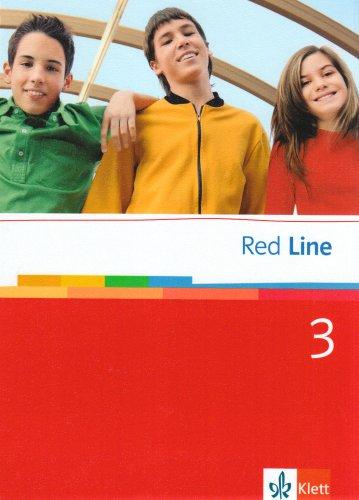 9783125811300: Red Line. Schnlerbuch 3. Klasse 7.