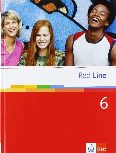 9783125811607: Red Line 6. Unterrichtswerk für Realschulen. Schülerbuch (Hardcover) 10. Schuljahr
