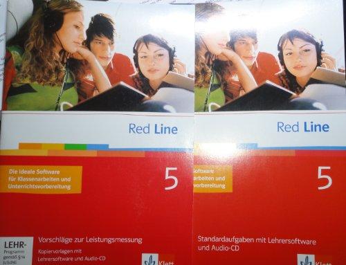 9783125811690: Red Line 5 Vorschläge zur Leistungsmessung Kopiervorlagen mit Lehrersoftware