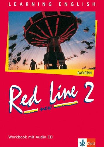 9783125811720: Red Line New 2. Workbook mit Audio-CD. Bayern