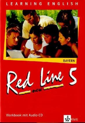 9783125811751: Red Line New 5. Workbook mit Audio-CD. Bayern