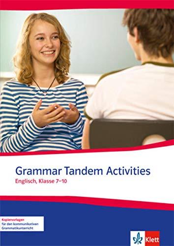 9783125811805: Grammar Tandem Activities. Englisch, Klasse 7-10
