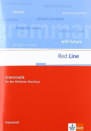 Red Line. Klassen 5-10. Grammatik für den mittleren Abschluss (Pamphlet)
