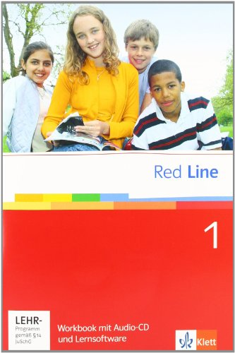 9783125812154: Red Line 1. Workbook mit CD und CD-ROM: Realschule. BW, HB, HE, HH, NI., NW, RP, SH, SL