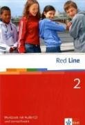 9783125812253: Red Line 2. Workbook mit CD und CD-ROM
