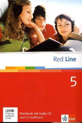 9783125812550: Red Line. Unterrichtswerk fur Realschulen: Red Line 5. Unterrichtswerk fur Realschulen. Workbook mit Audio-CD und Lernsoftware 9. Schuljahr: BD 5