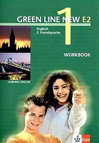 9783125818156: Green Line New E2 1. Workbook: Englisch als 2. Fremdsprache an Gymnasien, mit Beginn in Klasse 5 oder 6