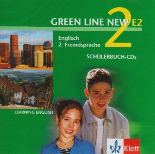 9783125818286: Green Line New E2. Band 2. 2 CDs: Englisch als 2. Fremdsprache an Gymnasien, mit Beginn in Klasse 5 oder 6