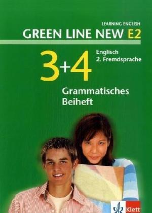 9783125818415: Green Line New E2. Band 3 und 4. Grammatisches Beiheft: Englisch als 2. Fremdsprache an Gymnasien, mit Beginn in Klasse 5 oder 6