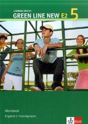 9783125818552: Green Line New E2 5. Workbook: Englisch als 2. Fremdsprache an Gymnasien, mit Beginn in Klasse 5 oder 6