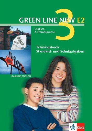 9783125818729: Green Line New E2 3. Trainingsbuch Standard -und Schulaufgaben, Heft mit Audio-CD: Englisch als 2. Fremdsprache an Gymnasien, mit Beginn in Klasse 5 oder 6