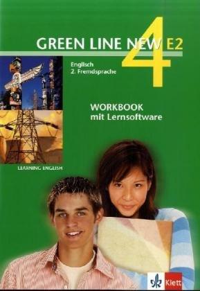 9783125818835: Green Line New E2 4. Workbook mit Software: Englisch als 2. Fremdsprache an Gymnasien, mit Beginn in Klasse 5 oder 6