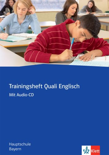 9783125826502: Trainingsheft Abschlussprüfung Englisch. Hauptschule Bayern: Hauptschule Bayern