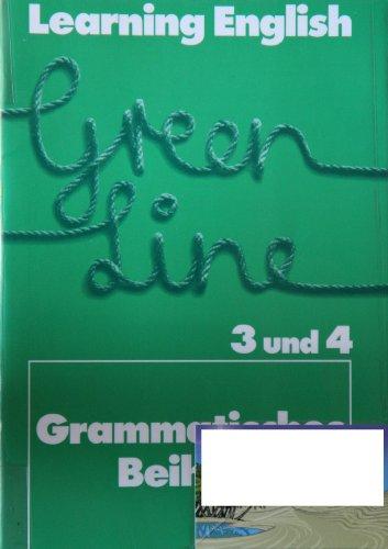 9783125833401: Learning English, Green Line, Grammatisches Beiheft