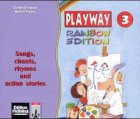 9783125869660: Playway Rainbow Edition, Songs, chants, rhymes and action stories, 3 Audio-CDs