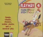 9783125869868: Playway Rainbow Edition, Songs, chants, rhymes and action stories, 3 Audio-CDs
