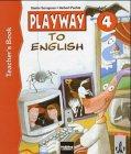 9783125870802: Playway to English 4. Teacher's Book: System-Handbuch. Lehrwerk für den Englischunterricht an Grundschulen, in Kinderkursen an Volkshochschulen und Familienbildungsstätten