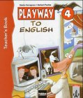 9783125870802: Playway to English 4. Teacher's Book. System- Handbuch. (Lernmaterialien)