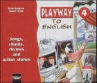 9783125870864: Playway to English 4. Songs, chants, rhymes and action stories. 2 CD. Für Schüler. (Lernmaterialien)