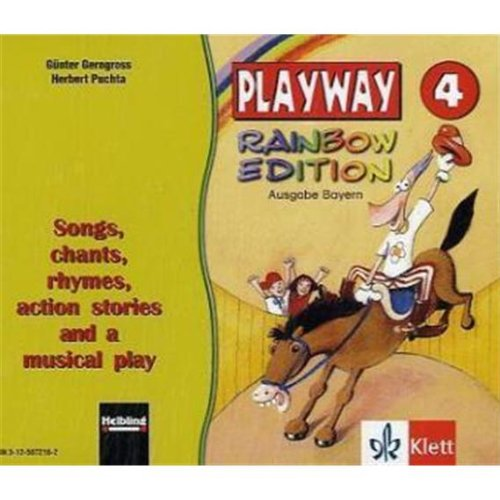 9783125872165: Playway Rainbow Edition, Ausgabe Bayern 4. Klasse, 3 Audio-CDs