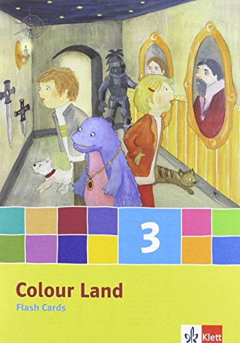 Colour Land ab Klasse 1 - Neubearbeitung. Band 3. Flash Cards. Ausgabe Baden-Württemberg, ...