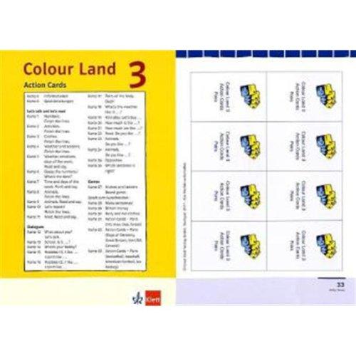 9783125877801: Colour Land - Ausgabe für Baden-Württemberg. Action Cards für das 3. Schuljahr