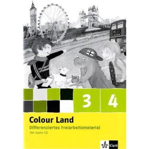 9783125877863: Colour Land ab Klasse 1 - Neubearbeitung. Band 3, 4. Ausgabe Baden-Württemberg, Berlin, Brandenburg, Rheinland-Pfalz / Teacher's Book mit Kopiervorlagen und Audio-CD