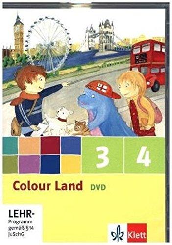 9783125877887: Colour Land. Für den Beginn ab Klasse 1. Video-DVD 3. und 4. Schuljahr