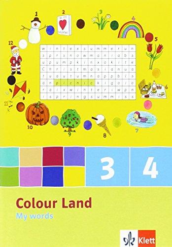 9783125877894: Colour Land. My Words (5er Pack) 3. und 4. Schuljahr