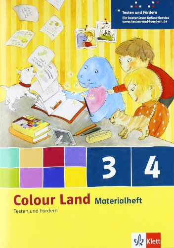 9783125877979: Colour Land ab Klasse 3. Ausgabe 2013. Das Materialheft Testen und Fördern 3. und 4. Schuljahr