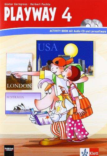 9783125880122: Playway 4. Schuljahr. Activity Book mit CD-ROM und Audio-CD: Berlin, Brandenburg, Bremen, Hamburg, Hessen, Mecklenburg-Vorpommern, Niedersachsen, Schleswig-Holstein, Sachsen-Anhalt, Thuringen