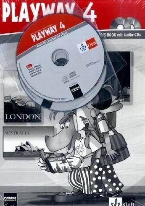 9783125880139: 4. Schuljahr, Teachers Book m. Audio-CD