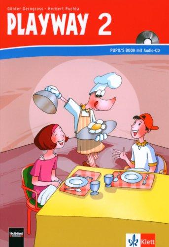 9783125880405: Playway ab Klasse 1. 2.Schuljahr. Pupil's Book mit Audio-CD