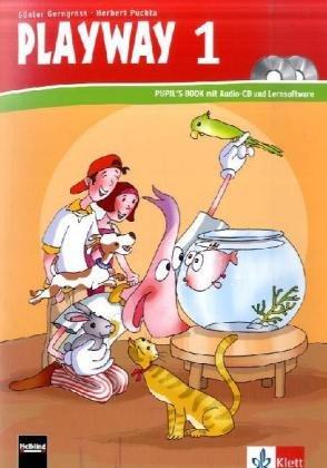 9783125880542: Playway ab Klasse 1. 1.Schuljahr. Pupil's Book mit CD-ROM und Audio-CD. Nordrhein-Westfalen