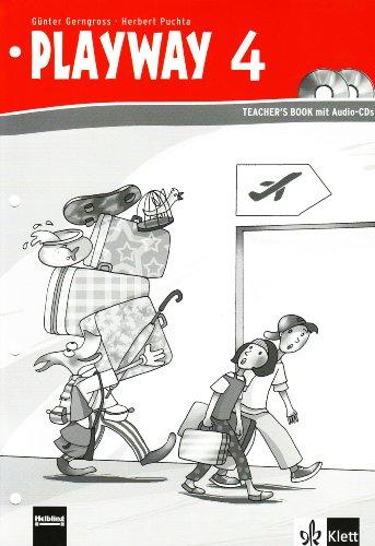9783125880634: Playway to English - Neubearbeitung. Ab Klasse 1. Teacher's Book mit Audio-CD 4. Ausgabe Baden-Württemberg, Berlin, Brandenburg, Rheinland-Pfalz und Nordrhein-Westfalen
