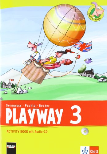 9783125881211: Playway. Für den Beginn ab Klasse 3. Activity Book mit Audio-CD 3. Schuljahr