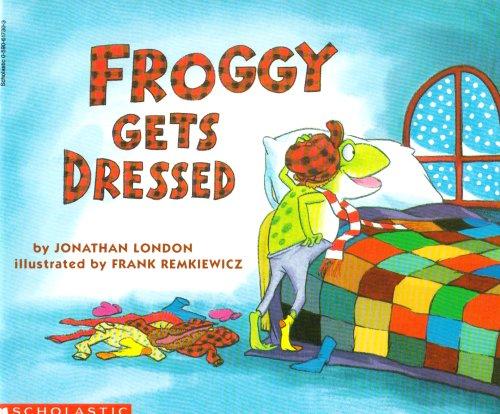 9783125890152: Froggy gets dressed: Niveaustufe: Selbstständig ab Kl. 3, mit der Lehrkraft ab Kl. 2