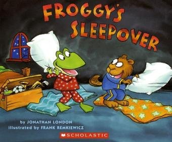 9783125890213: Froggy's Sleepover: Niveaustufe: Selbststandig ab Kl. 3, mit der Lehrkraft ab Kl. 2