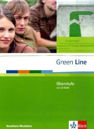 9783125940055: Green Line Oberstufe. Klasse 11/12 (G8) ; Klasse 12/13 (G9). Schülerbuch mit CD-ROM. Ausgabe für Nordrhein-Westfalen