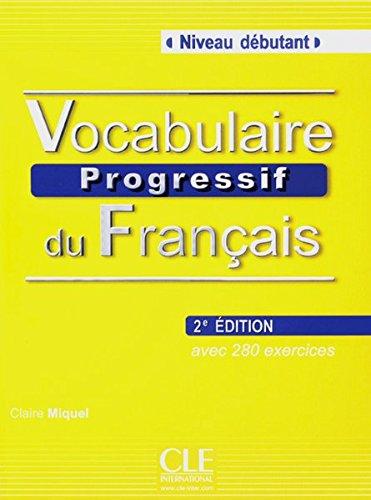 9783125952959: Vocabulaire progressif du fran�ais - Niveau d�butant. Buch mit Audio-CD - 2�me �dition