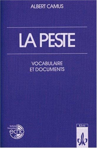 9783125972209: La peste. Vocabulaire et documents.