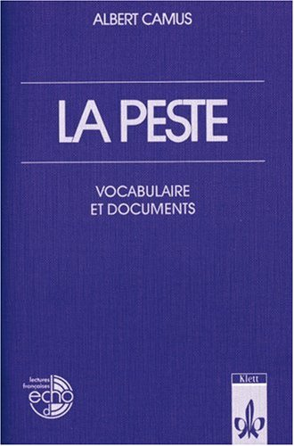 9783125972209: La peste. Vocabulaire et documents. (Lernmaterialien)