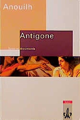 9783125972537: Antigone.