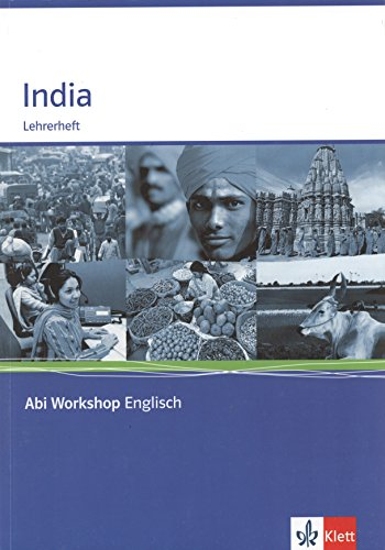 9783126010160: India. Lehrerheft: Abi Workshop Englisch. Lehrerheft