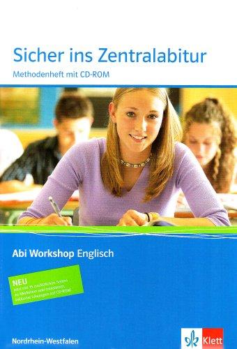 9783126010283: Sicher ins Zentralabitur. Englisch. Methodenheft. Nordrhein-Westfalen. Mit CD-ROM